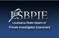 Image result for Louisiana state boards of private investigator